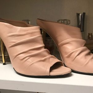 Tom ford Ruched leather heels